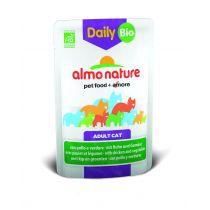 Almo Nature Mokra karma dla kotów z kurczakiem i warzywami Daily Menu 70 g Bio