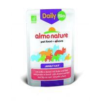 Almo Nature Mokra karma dla kotów z wołowiną i kurczakiem Daily Menu 70 g Bio