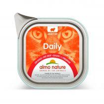 Almo Nature Mokra karma dla kotów z wołowiną Daily Menu 100 g