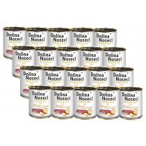 Dolina Noteci Premium Pure Karma dla dorosłych psów bogata w gęś z jabłkiem Zestaw 20 x 800 g