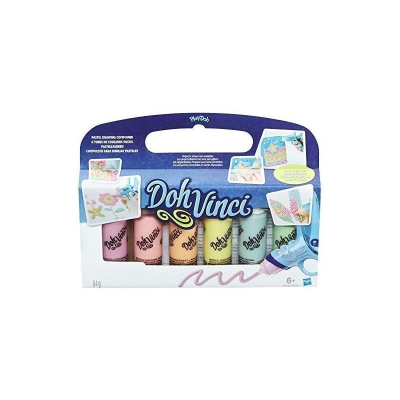 24a6b5930 DohVinci zestaw uzupełniający pastelowy 6 kolorów Hasbro w Bee.pl